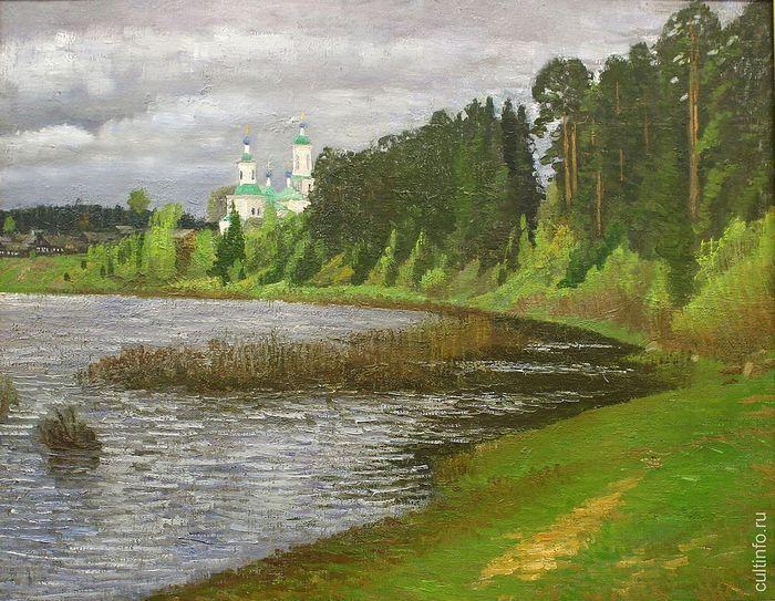 Владимир Федуков. Мокрый день. 2009. Холст, масло