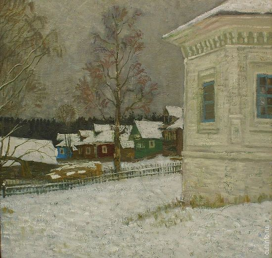 Vladimir Fedukov. Early Winter. 2002. Canvas, oil.
