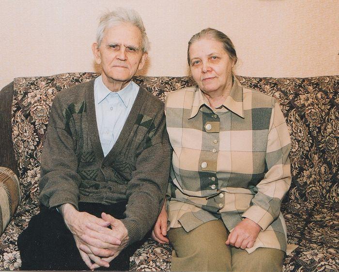 Александр Петрович Сотников с супругой, Тамарой Ивановной Голубевой