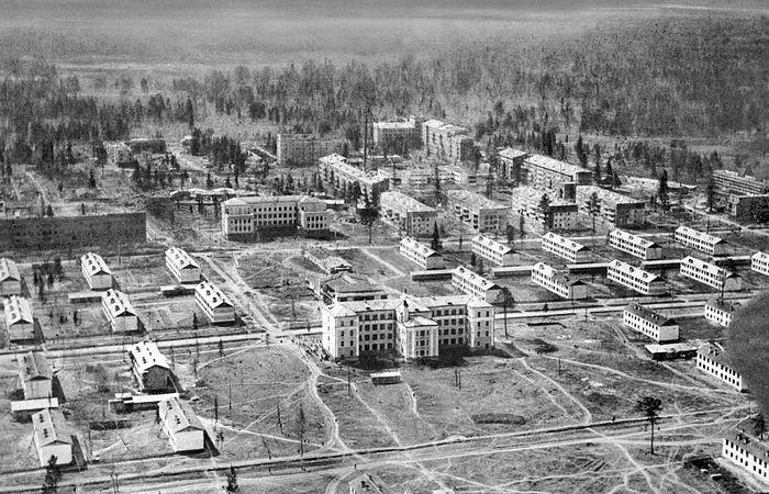 Нижний Тагил, Старая Вагонка в районе улиц Тельмана и Ильича (Вагонстрой), 1930-е гг.