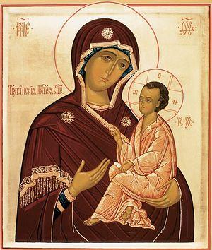 Tikhvin Icon of the Most Holy Theotokos