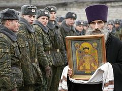 Priests of Russian Orthodox Church to appear in Russian army and navy