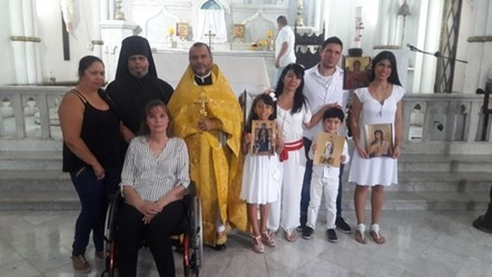 Православные верующие Колумбии