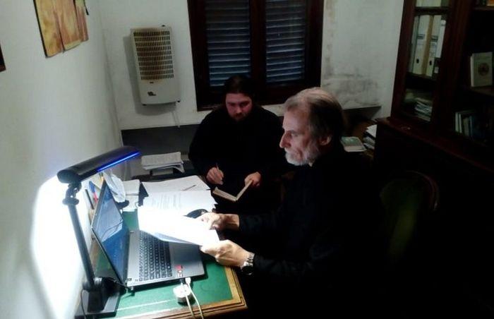 Во время онлайн-собрания духовенства обширной епархии