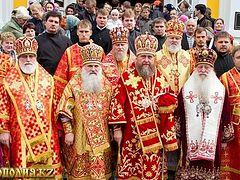 In Alma-Ata was celebrated the feast of All the New Martyrs of Kazakhstan