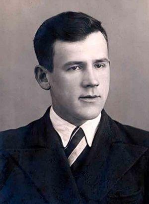 Кронид Поспелов, будущий отец Нафанаил. Фото 1941 г.