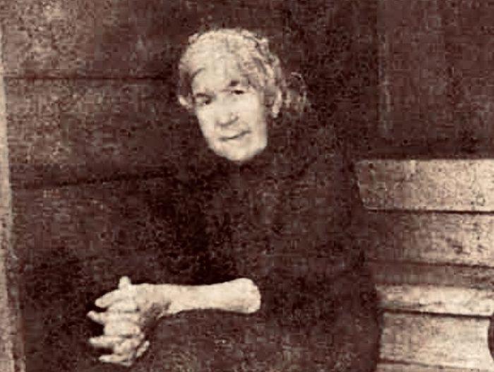 Мама Анна Константиновна Поспелова