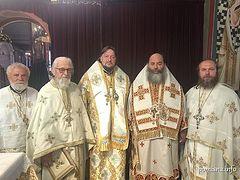 Greek hierarchs concelebrate with Ukrainian schismatics in Thessaloniki