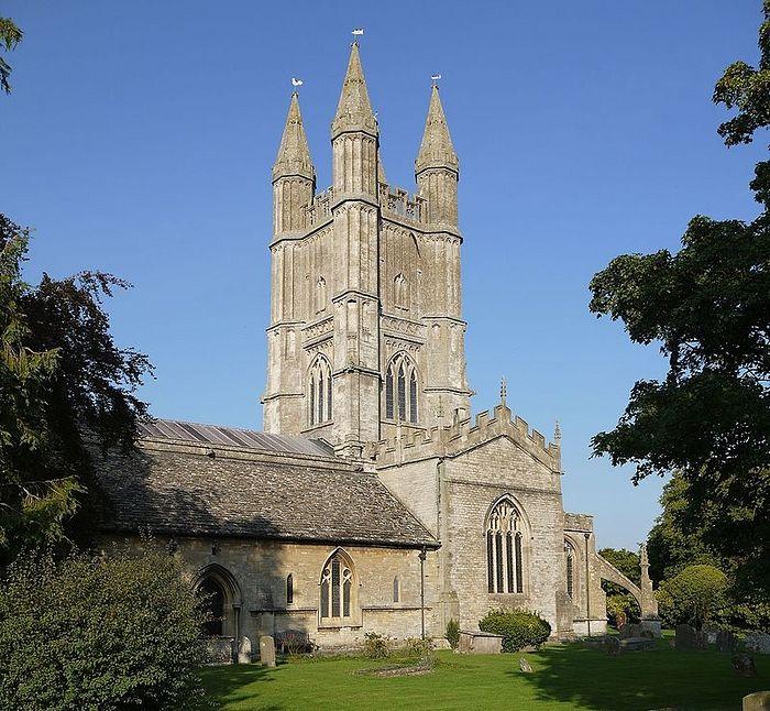 Церковь свт. Самсона в Криклейде, Уилтшир