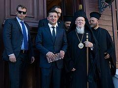Pat. Bartholomew, Zelensky both pledge not to interfere in Ukrainian Church affairs