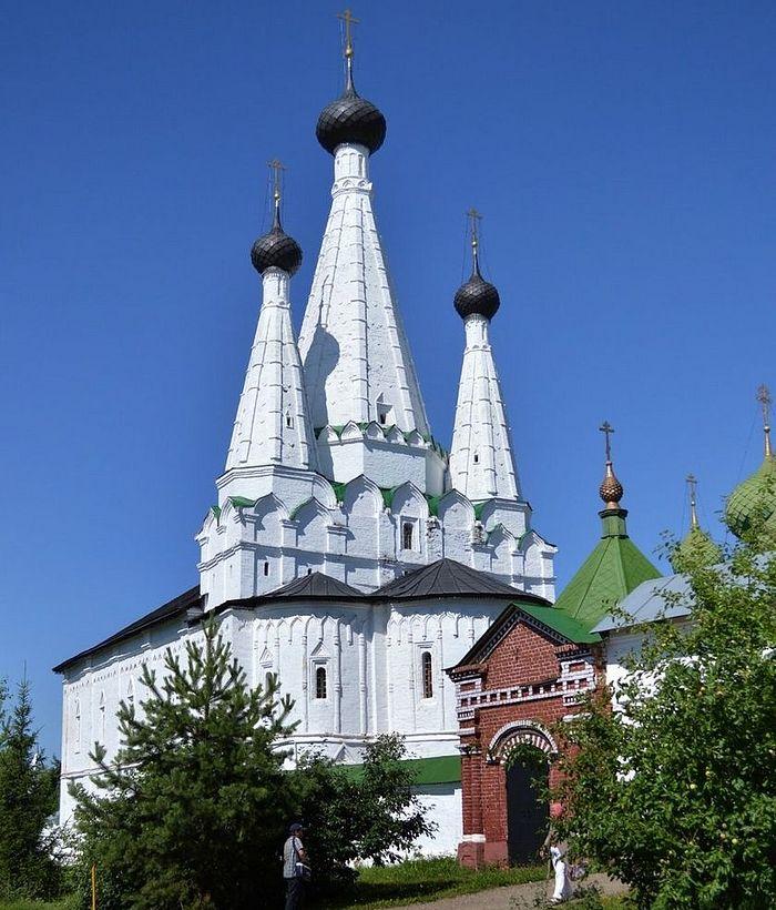 Дивная Успенская церковь