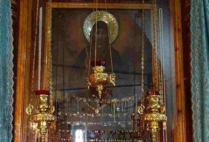 Икона Свеча Неугасимая. 2010 год