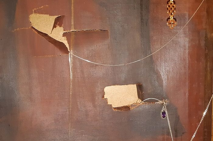 Икона Свеча Неугасимая после нападения