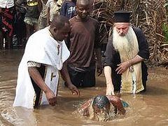 81 baptized in African Metropolis of Kananga