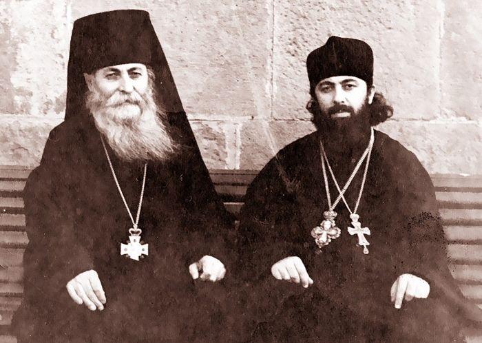 С будущим Патриархом-Католикосом Грузии Илией II