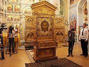 Главная икона Вооруженных сил РФ «Спас Нерукотворный» принесена на Южный Урал