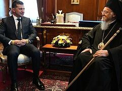 """Zelensky refused to sign """"ecological"""" document amended by Constantinople to include continuation of Poroshenko's policy of state interference in Church affairs"""