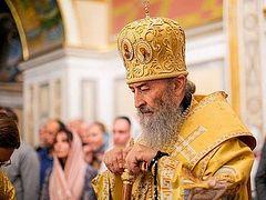 Despite ongoing church seizures, Ukrainian Church has grown by 184 parishes, 30 monasteries under Met. Onuphry