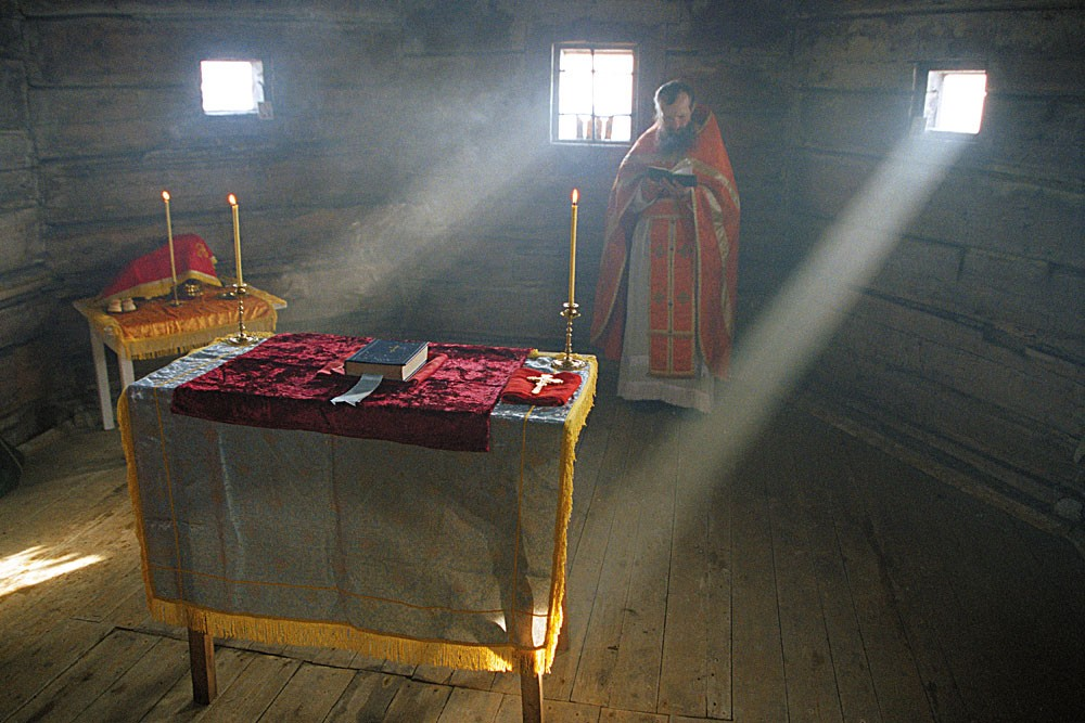 Liturgy in the Church of Apostle Andrew