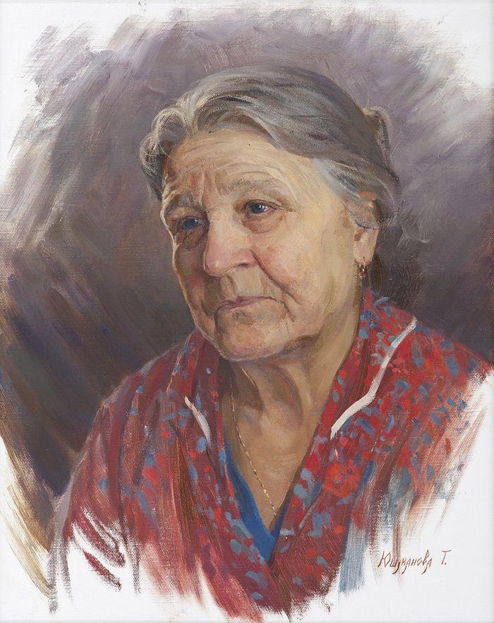Портрет Изабеллы Ефимовны Слепининой. 2010 год