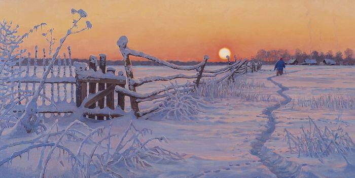 «Морозным вечером». 2010 год