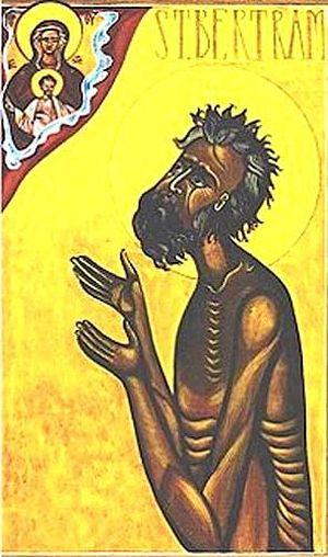 Святой Бертрам, пустынник Иламский