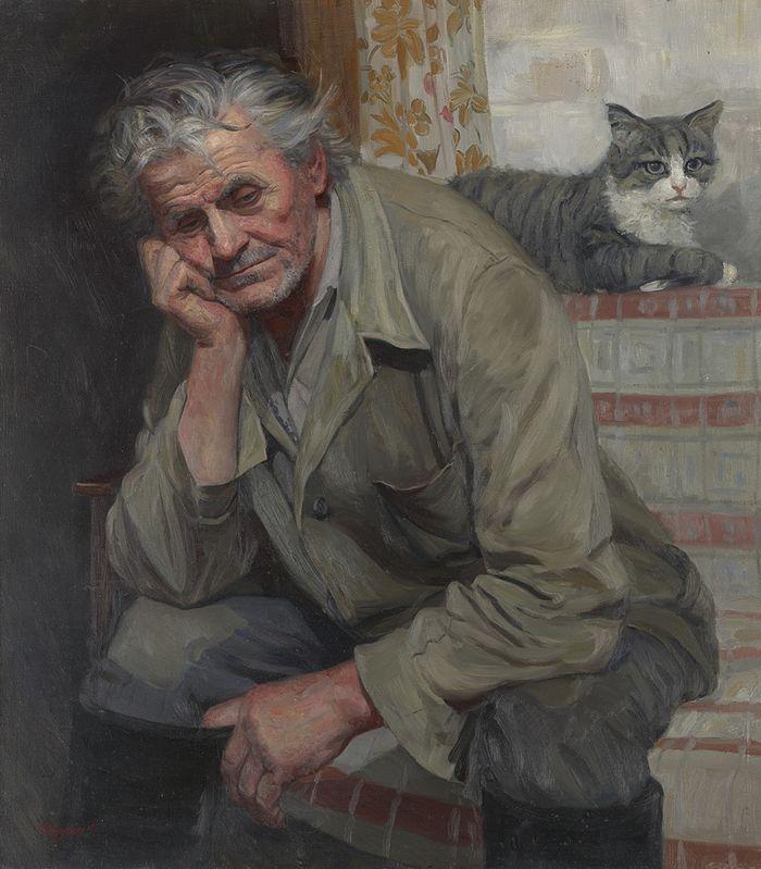 Портрет дяди Саши Королёва. 1999 год