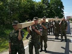 Orthodox Ordinariate of Polish Army holds annual pilgrimage to holy Mount Grabarka