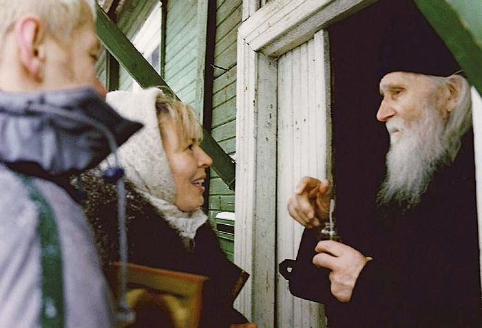 Elder Nikolai and Olga Kormukhina