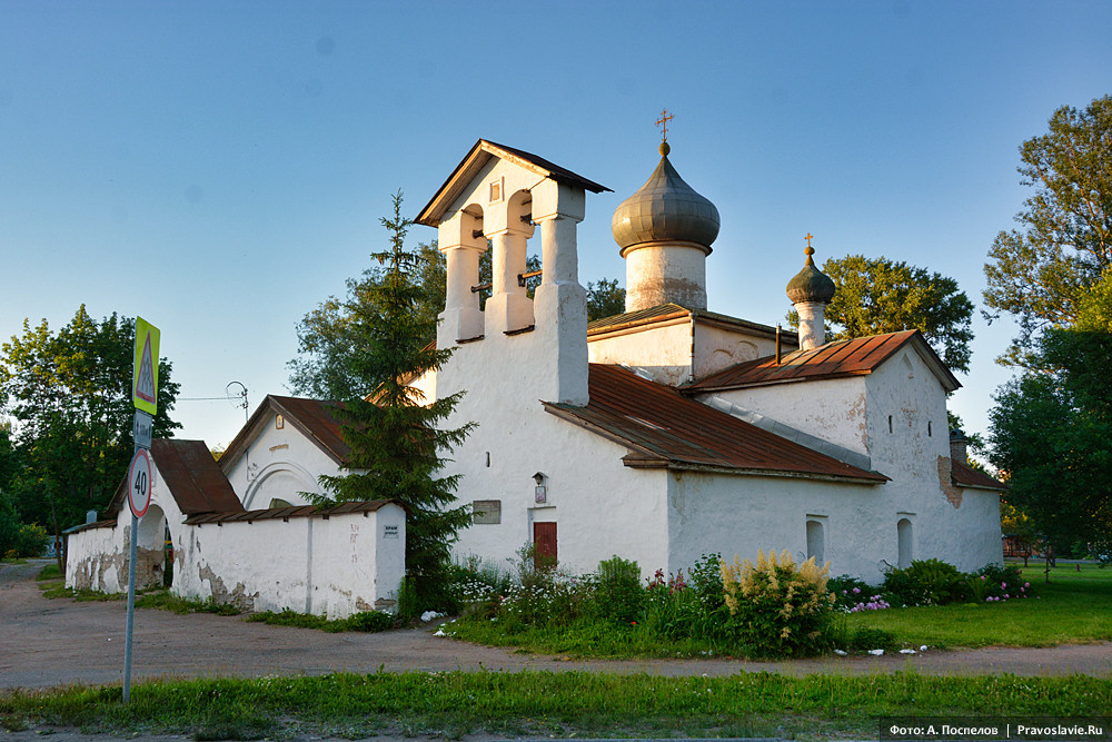 Церковь Образская с Жабьей лавицы