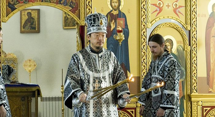 Archbishop Theophan of Korea of the Russian Orthodox Church. Photo: foma.ru