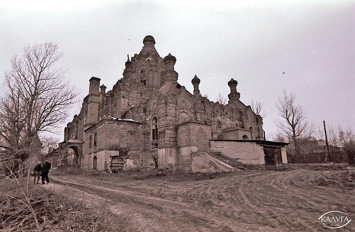 Шамордино. Апрель 1988 г. Казанский собор