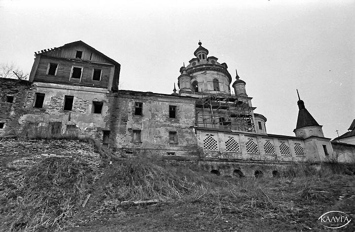Черноостровский Свято-Никольский монастырь. 1992 г