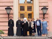Митрополит Санкт-Петербургский Варсонофий осмотрел храмы Русского музея