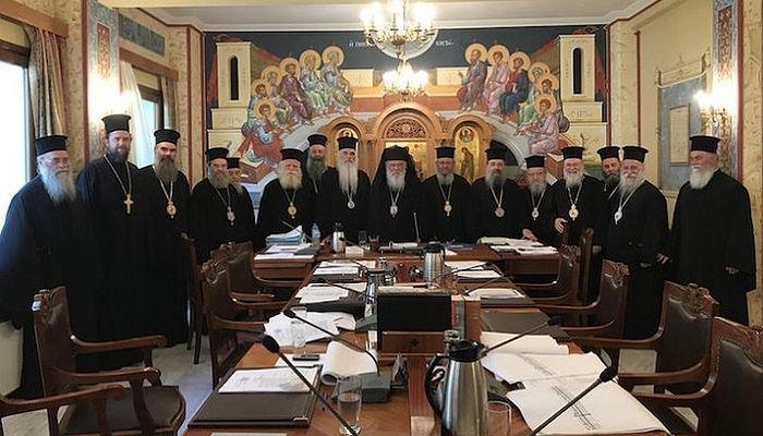 Члены Священного Синода Элладской Православной Церкви. Фото: Romfea