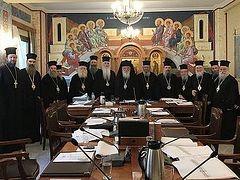 Элладская Церковь рассмотрит «украинский вопрос» в октябре