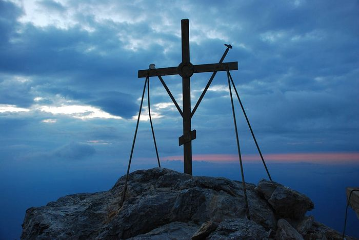 The summit of Mt. Athos
