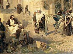 Что писал Господь Иисус Христос перстом на земле?
