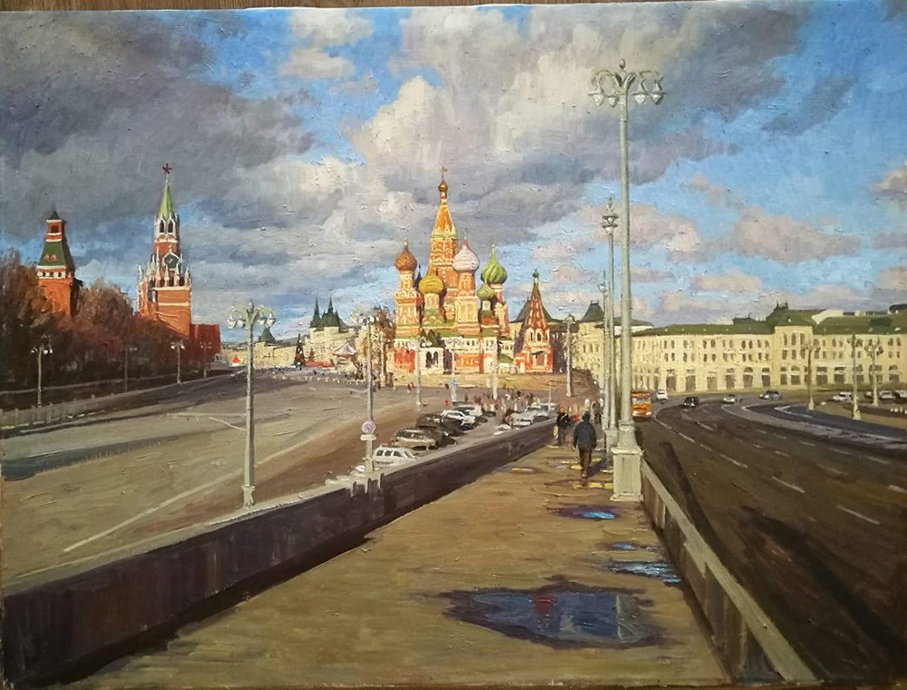 Moscow after the rain, 2018