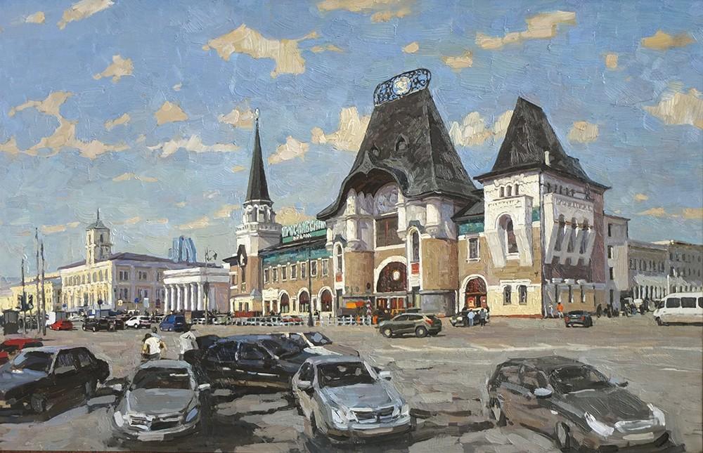 The Yaroslav Train Station, 2012