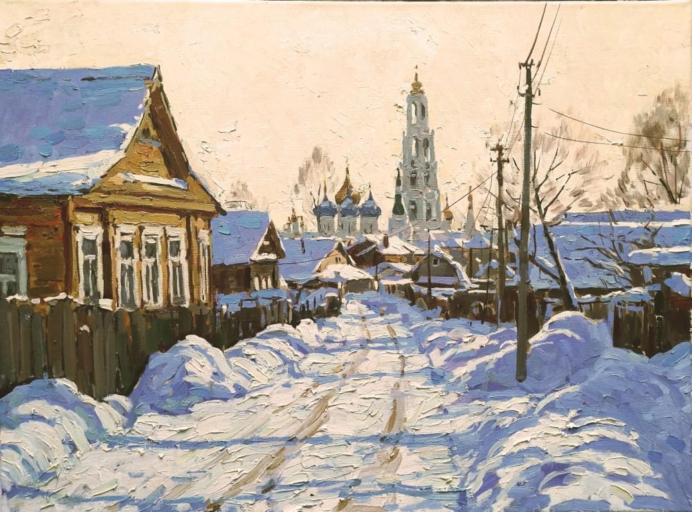 Winter in Sergiev Posad, 2018