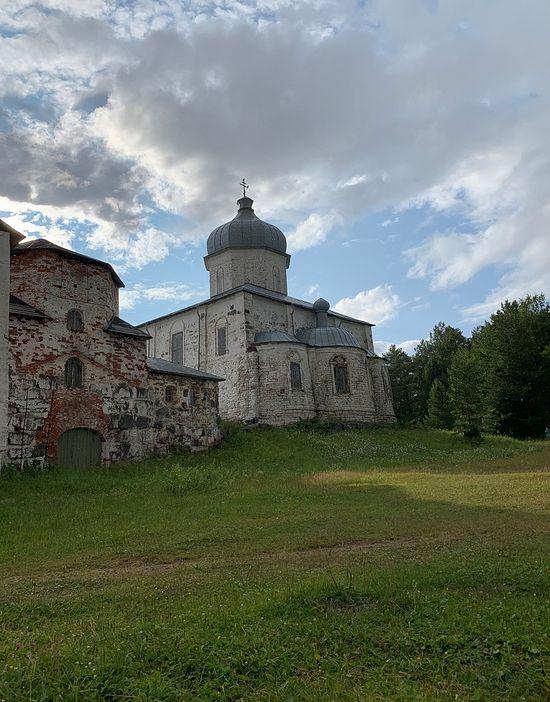 Онежский Крестный монастырь, Кий-остров. Фото: Кристина Оболоник