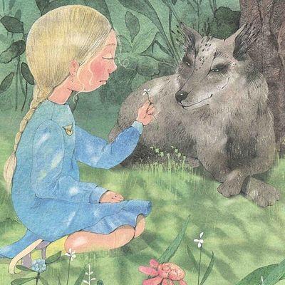 О фантазии, детском одиночестве и совином волке