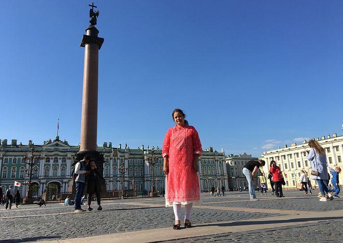 Catherine in St. Petersburg
