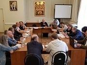 Состоялось очередное заседание Экспертного совета по церковному искусству, архитектуре и реставрации