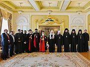 Святейший Патриарх Кирилл встретился с Предстоятелем Маланкарской Церкви
