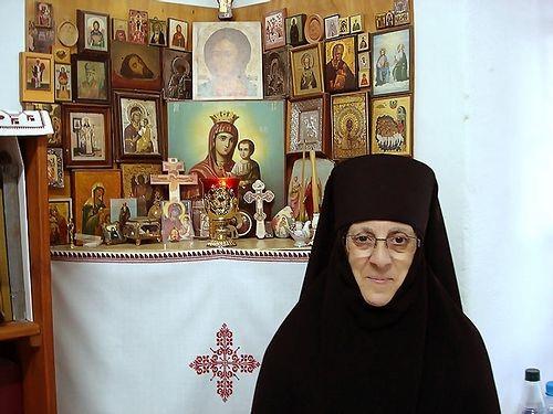 Mother Veronica (Raheb) as a nun