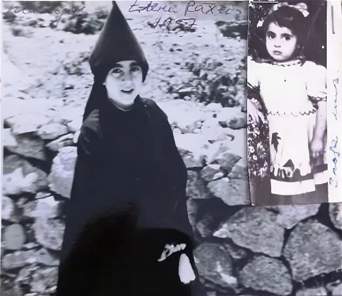 Nun Veronica (Raheb) in her youth
