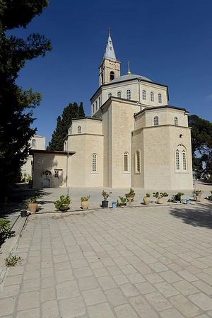 The Mount of Olives Convent of the Ascension of Our Lord in Jerusalem