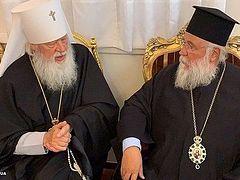Иерарх Элладской Православной Церкви: Мы признаем только одну каноническую Церковь в Украине — УПЦ